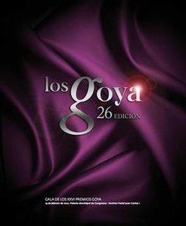 26th Goya Awards