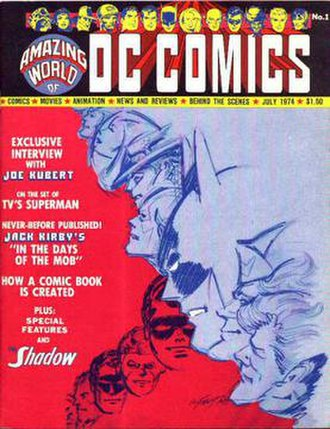 The Amazing World of DC Comics - Image: A Wo D Cc 01 cover