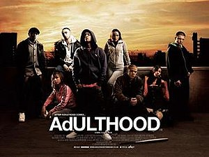 Adulthood (film) - Theatrical release poster