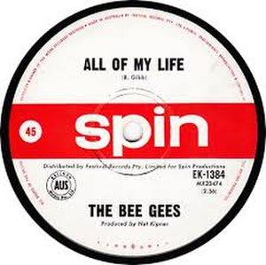 All of My Life (Bee Gees song) - Image: All of My Life