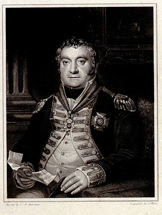 Lord Amelius Beauclerk - Admiral Lord Amelius Beauclerk, 1771–1846, by C J Robertson, engraved by S Watts