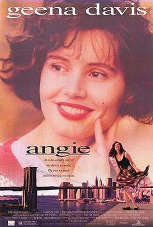 Angie (1994 film) - Theatrical release poster
