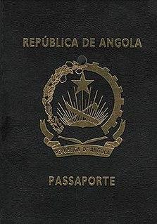 Angolan passport passport