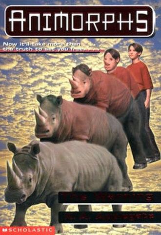 The Warning (novel) - Jake morphing into a rhinoceros.