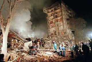 Russian apartment bombings series of explosions in 1999
