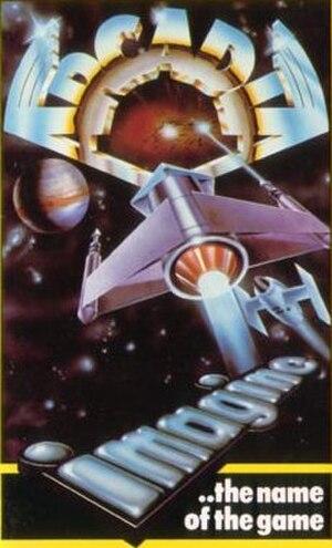 Arcadia (video game) - Spectrum cassette inlay