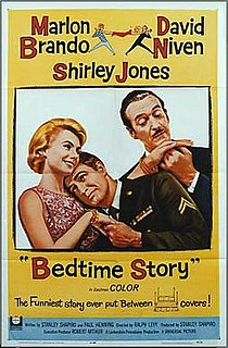 <i>Bedtime Story</i> (1964 film) 1964 film by Ralph Levy
