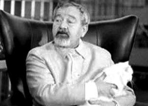 Jan Werich - Werich's screentest as Blofeld.
