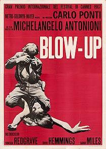 <i>Blowup</i> 1966 British-Italian film directed by Michelangelo Antonioni