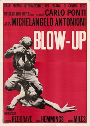 Blowup - Theatrical release poster