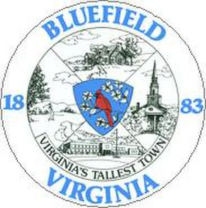 Bluefield, Virginia - Image: Bluefield Virginia Seal