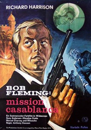 Bob Fleming... Mission Casablanca - Image: Bob Fleming... Mission Casablanca