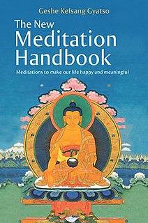 <i>The New Meditation Handbook</i> book by Kelsang Gyatso
