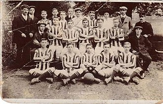 Hayes F.C. - Botwell Mission, in 1910/11