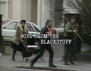 Boys from the Blackstuff - The opening of the first episode of the series.