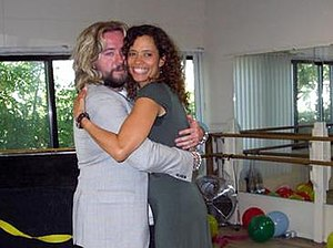 Bring Back... - Justin Lee Collins with Erica Gimpel.