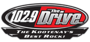 CHDR-FM - Image: CHDR 102.9The Drive logo