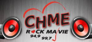CHME-FM - Image: CHME Rock Ma Vie 949 997 logo Edited