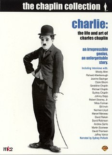 <i>Charlie: The Life and Art of Charles Chaplin</i> 2003 film by Richard Schickel