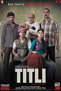 <i>Titli</i> (2014 film) 2014 film by Kanu Behl
