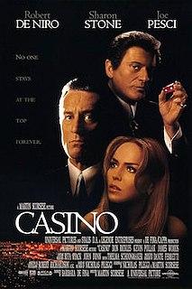<i>Casino</i> (1995 film) 1995 film directed by Martin Scorsese