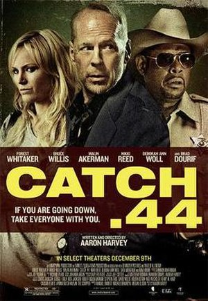 Catch .44 - Theatrical release poster