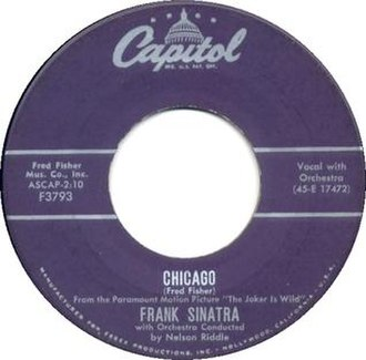 Chicago (That Toddlin' Town) - Image: Chicago Frank Sinatra