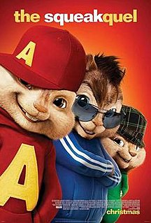 <i>Alvin and the Chipmunks: The Squeakquel</i> 2009 film by Betty Thomas