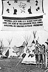 Comanche Trail Council Indian Camp på 1937 National Scout Jamboree