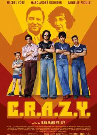 C.R.A.Z.Y. - Theatrical release poster