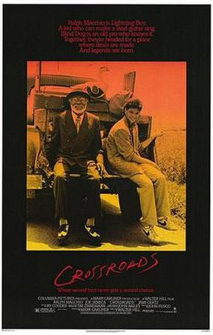 Crossroads (1986 film) - Theatrical release poster