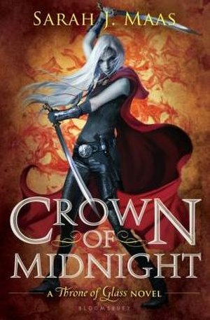 Throne of Glass - Image: Crown of Midnight cover