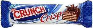 Crisp (chocolate bar) - Nestle Crunch Crisp