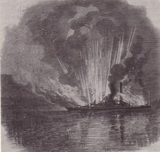 National Register of Historic Places listings in Dare County, North Carolina - Image: Curlew Burning 1