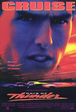 Days of Thunder - Theatrical release poster
