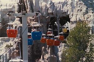 Skyway (Disney) - Image: Disneyland Skyway