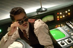 Howard Stark - Dominic Cooper as Howard Stark in the film Captain America: The First Avenger.