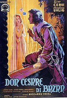 <i>Don Cesare di Bazan</i> 1942 film by Riccardo Freda