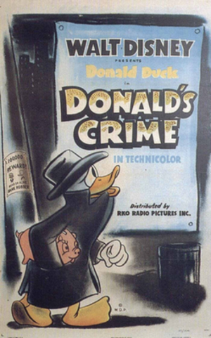 Donald's Crime - Theatrical release poster