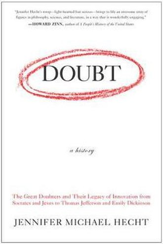 Doubt: A History - Image: Doubta History Cover