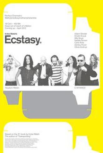 Irvine Welsh's Ecstasy - UK Poster