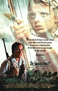 <i>The Emerald Forest</i> 1985 film by John Boorman