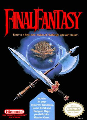 Final Fantasy (video game) - North American cover art