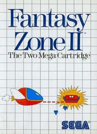Fantasy Zone II: The Tears of Opa-Opa - North American cover art