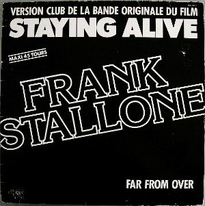 Far from Over (Frank Stallone song) - Image: Far from Over single