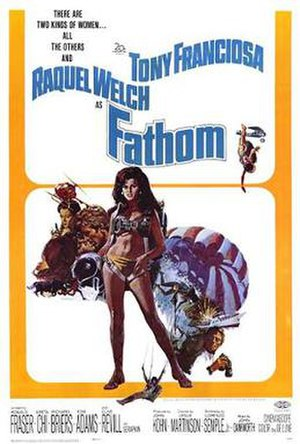 Fathom (film) - Promotional film poster by Tom Chantrell