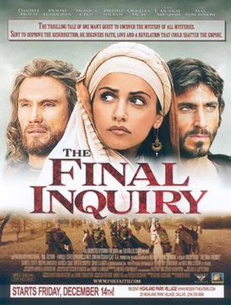 The Inquiry (2006 film) - Theatrical release poster