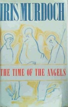 First English edition cover of Iris Murdoch's novel The Time of the Angels.jpg