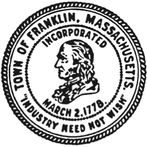 Franklin, Massachusetts - Image: Franklin MA seal