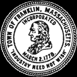 Franklin, Massachusetts - Image: Franklin MA seal